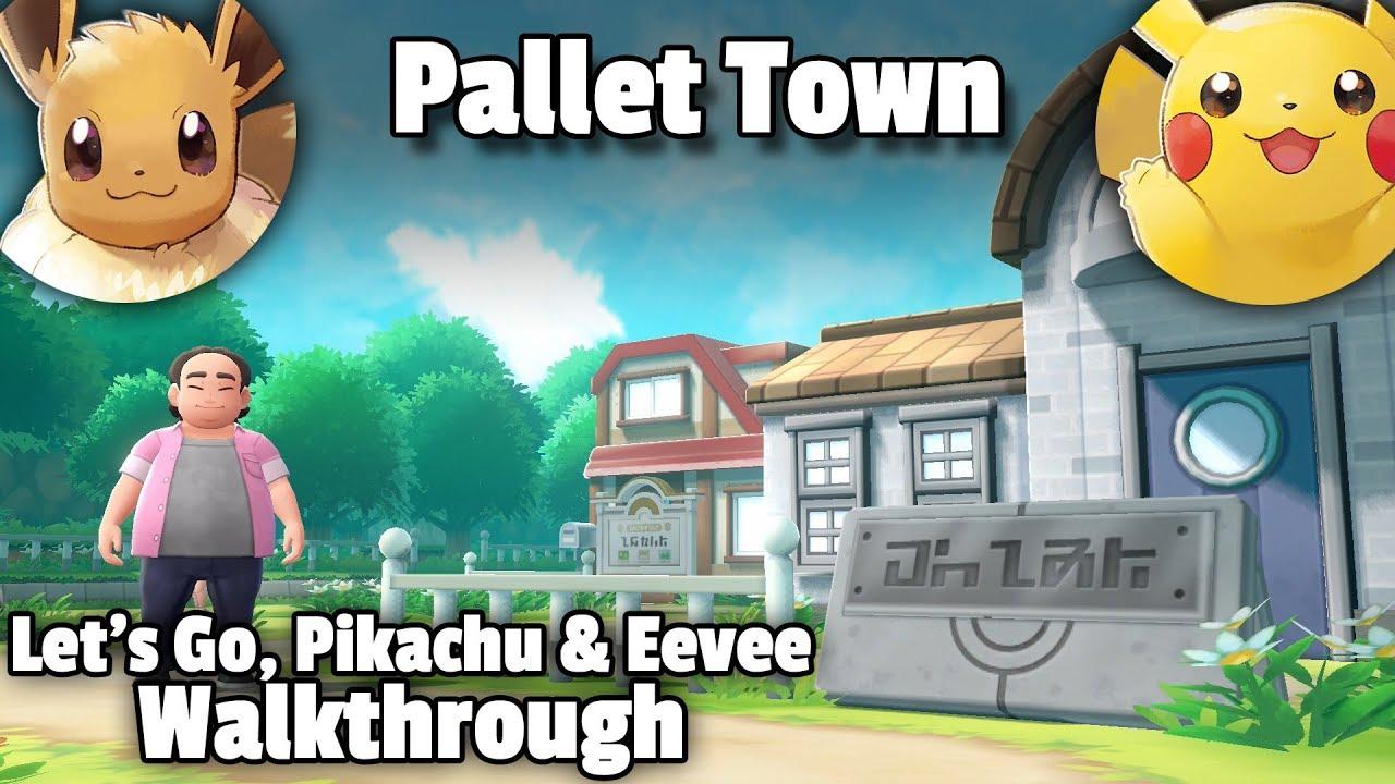 Introduction • Pokémon Let's Go Pikachu & Eevee Walkthrough