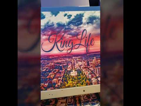 DTG Printing KingLife Clothing Custom Orders