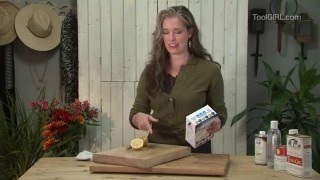 Toolgirl Mag Ruffman - Restoring Cutting Boards And Butcher Blocks