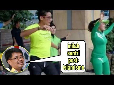 Aksi terbaru #SantriZamanNow or #SantriPostIslamisme terbitan PKS. Eaaa....eaaa....