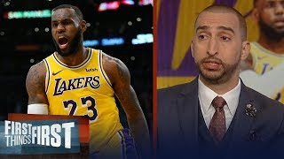 Nick Wright on LeBron, Lakers' back-to-back wins, Rockets want Butler | NBA | FIRST THINGS FIRST
