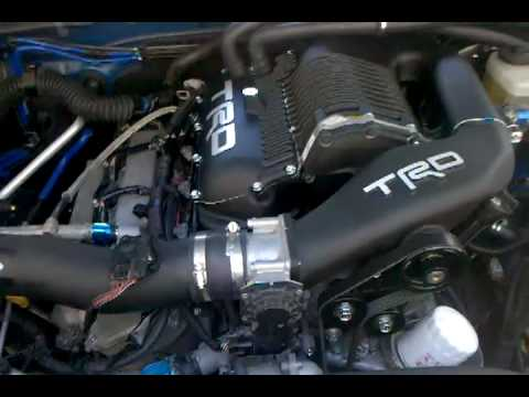 TRD Supercharger RoughRaspy Noises  Tacoma World