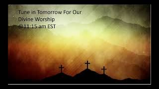 Brandon SDA Church Live Stream 4/2/2021 - Communion Service