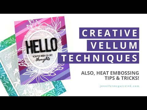 Download Vellum Techniques (and a GREAT New Release!)