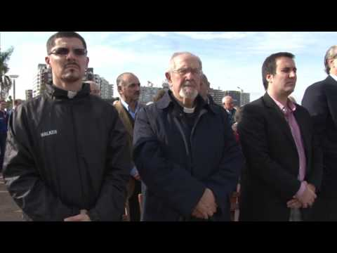 Acto 101 aniversario Genocidio Armenio en Plaza Armenia Montevideo Uruguay
