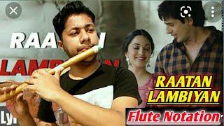 Raataan Lambiyan Song   Flute Tutorial   Jubin Nautiyal   Shershaah   By Harish Mahapatra