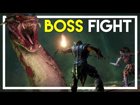 BOSS FIGHT! - Conan Exiles Gameplay - Part 16: Abyssal Remnant Boss Fight!