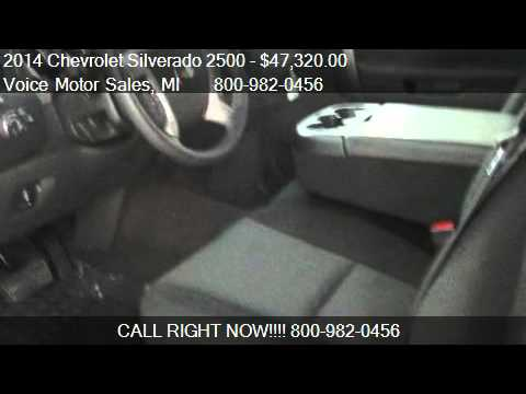 2014 chevrolet silverado 2500 lt 4x4 crew cab standard box for Voice motors kalkaska mi