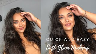 Soft Glam Makeup | Quick And Easy!