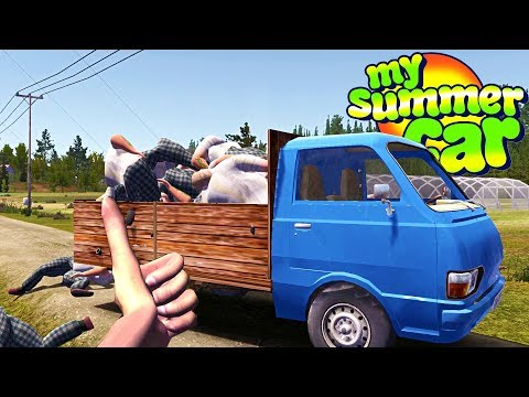 My Summer New Farming Truck - My Summer Car Gameplay Highlights Ep 115