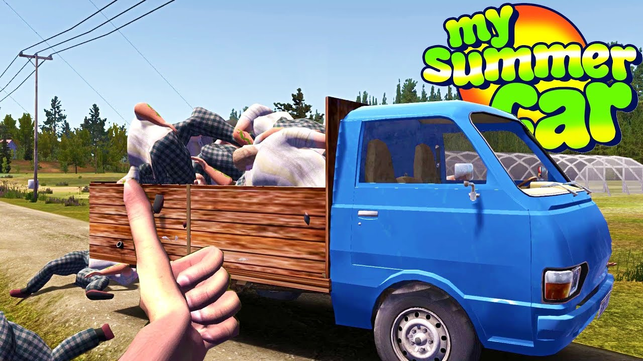 My Summer New Farming Truck - My Summer Car Gameplay Highlights Ep 115