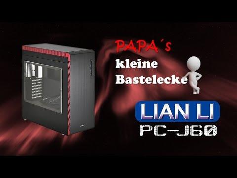 LianLi PC-J60 Aluminium-Case unboxing