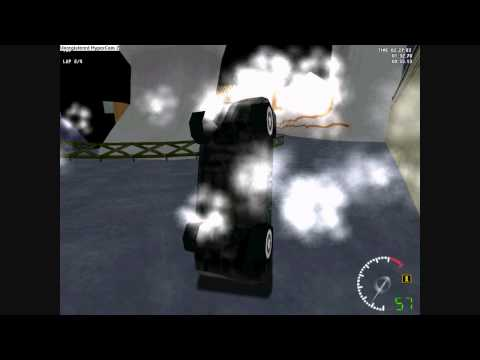 Test Drive 5 HD: Fear Factory Wagon does some rampage, glitches, crazy jumps and crashes