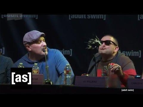 Superjail!, King Star King, and Mr. Pickles Panel SDCC 2014 | Adult Swim