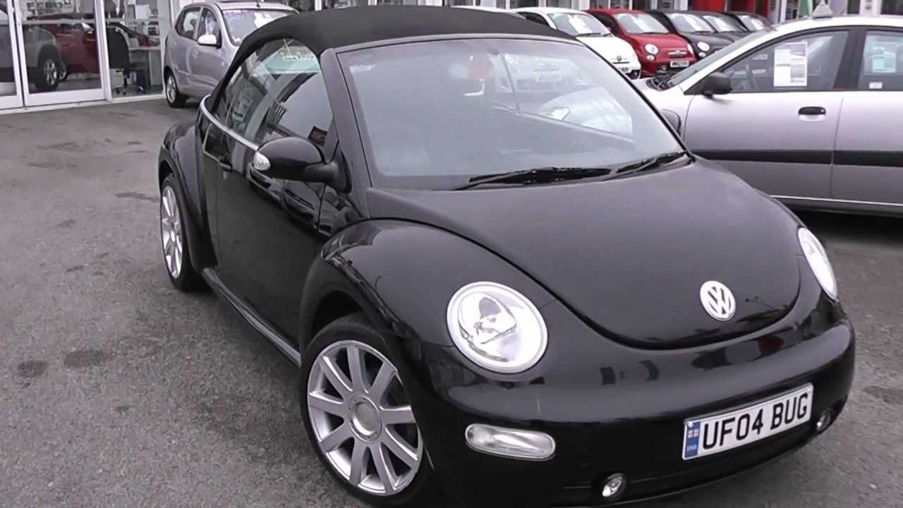 Used Car | Volkswagen Beetle Cabriolet | FG05JYD | Black | Wessex Garages | Feeder Road ...