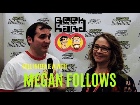 Geek Hard @ Toronto ComiCon 2018: Megan Follows Full