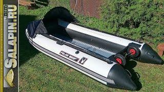 Лодка PolarBird 340M: транцевые колеса, носовой тент и новые полы (подготовка к сезону) [salapinru]