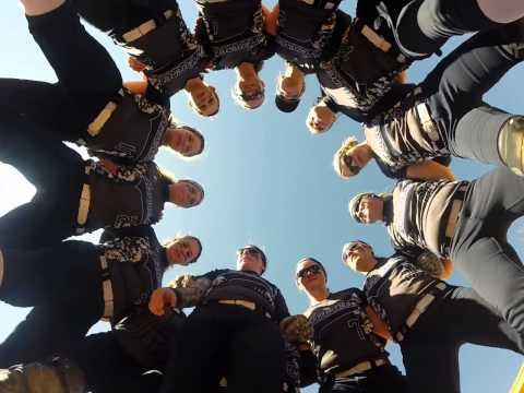 AU Softball Pre-Game Huddle