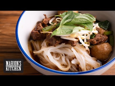 How to make Thai Beef Noodle Soup - Marion's Kitchen