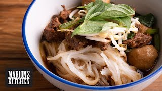 How to make Thai Beef Noodle Soup - Marions Kitchen