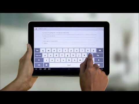 Configuración de correo electrónico Samsung Galaxy Tab 10 1