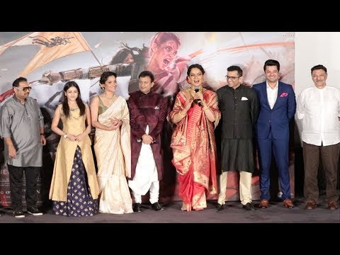 Manikarnika:Queen Of Jhansi Official Trailer Launch Complete Video HD-Kangana Ranaut,Anikta Lokhande