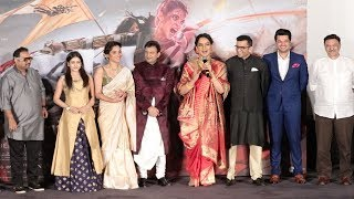 Manikarnika:Queen Of Jhansi Official Trailer Launch Complete Video HD-Kangana Ranaut,Anikta Lokhande