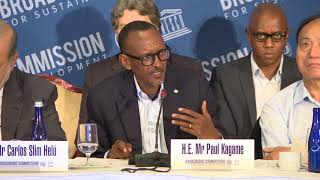 President Kagame co-chairs 14th Broadband Commission for Sustainable Development.