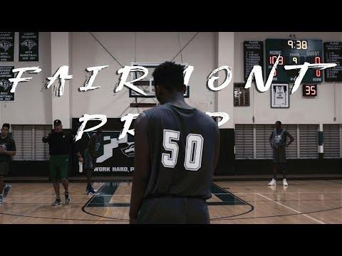 Fairmont Preparatory Academy Basketball 2017 Practice Highlight