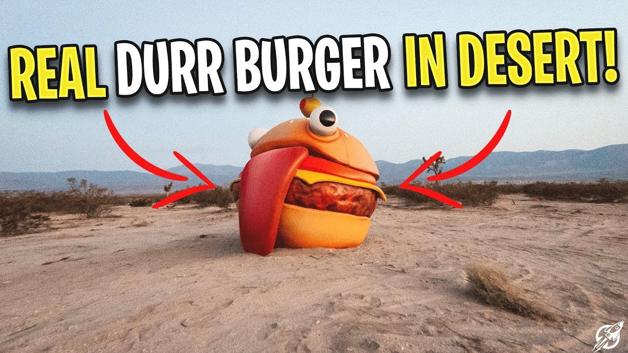 Fortnite Durr Burger In Desert Explanations Season 5 New Map Mao Squishy