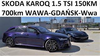 SKODA KAROQ 1.5 TSI - MEGA TEST PL