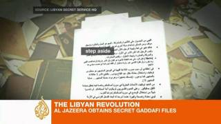 Files: Americans aid Gaddafi in rebel fight