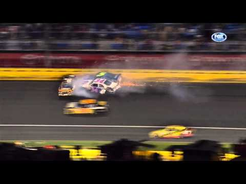 2011 Coca Cola 600 - Mark Martin, David Gilliland, Ryan Newman Hard Crash