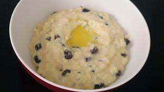 #каша#завтрак#каша пшенная#Каша из пшена с изюмом на завтрак!Пшенная каша на молоке!Полезно и вкусно