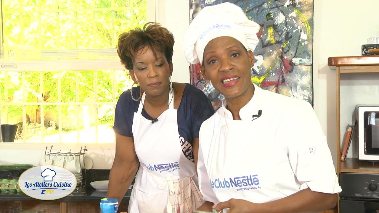 Les Atelier Cuisine avec PAOLA sur ETV Guadeloupe