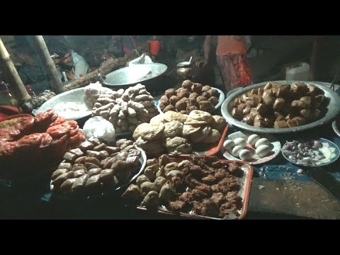 Beauty Of Dublar Char Island Market At Night, Sundarban