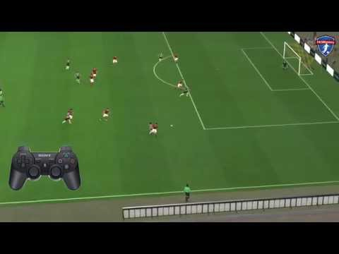 PES Passing - How to split the defence with Triangular Passing