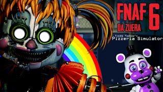 O RETORNO DA BABY! - Freddy Fazbear's Pizzeria Simulator (FNAF 6 DA ZUERA) #1