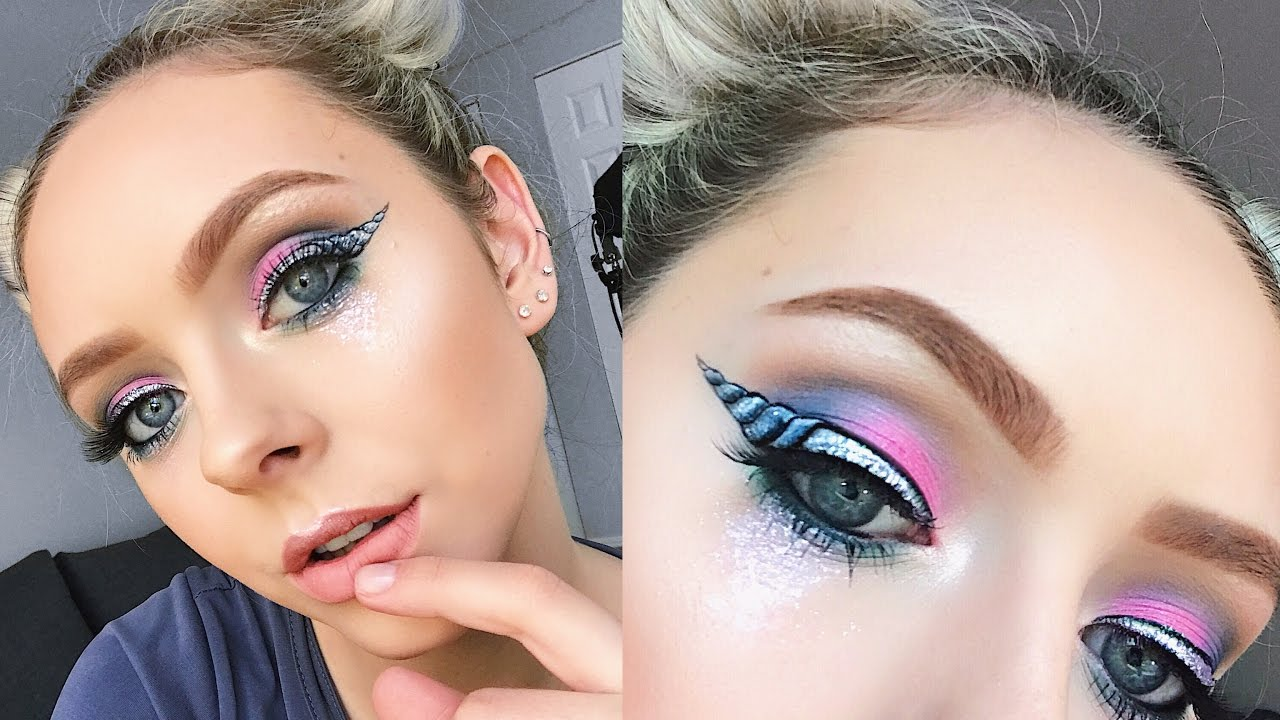 A Very Magical Unicorn Makeup Tutorial Youtube