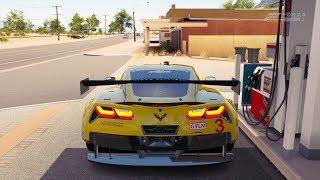Forza Horizon 3 Chevrolet #3 Corvette Racing Corvette C7.R Gameplay HD 1080p