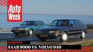 Saab 9000 vs. Volvo 940 - Occasion dubbeltest AutoWeek