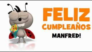FELIZ CUMPLEAÑOS MANFRED!