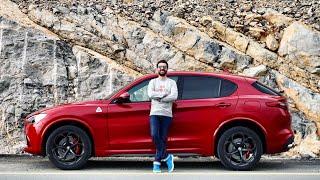 NEW Alfa Romeo Stelvio Quadrifoglio 2018 - First Drive