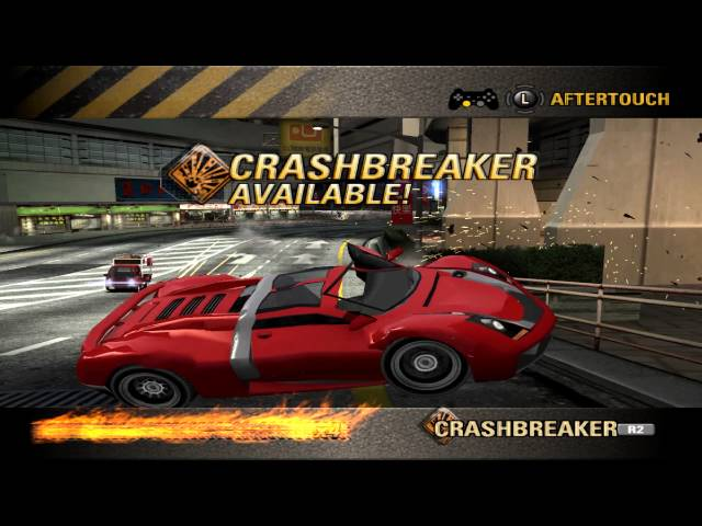 Burnout Revenge - Crashbreaker Reverse Road Rage - Central Route