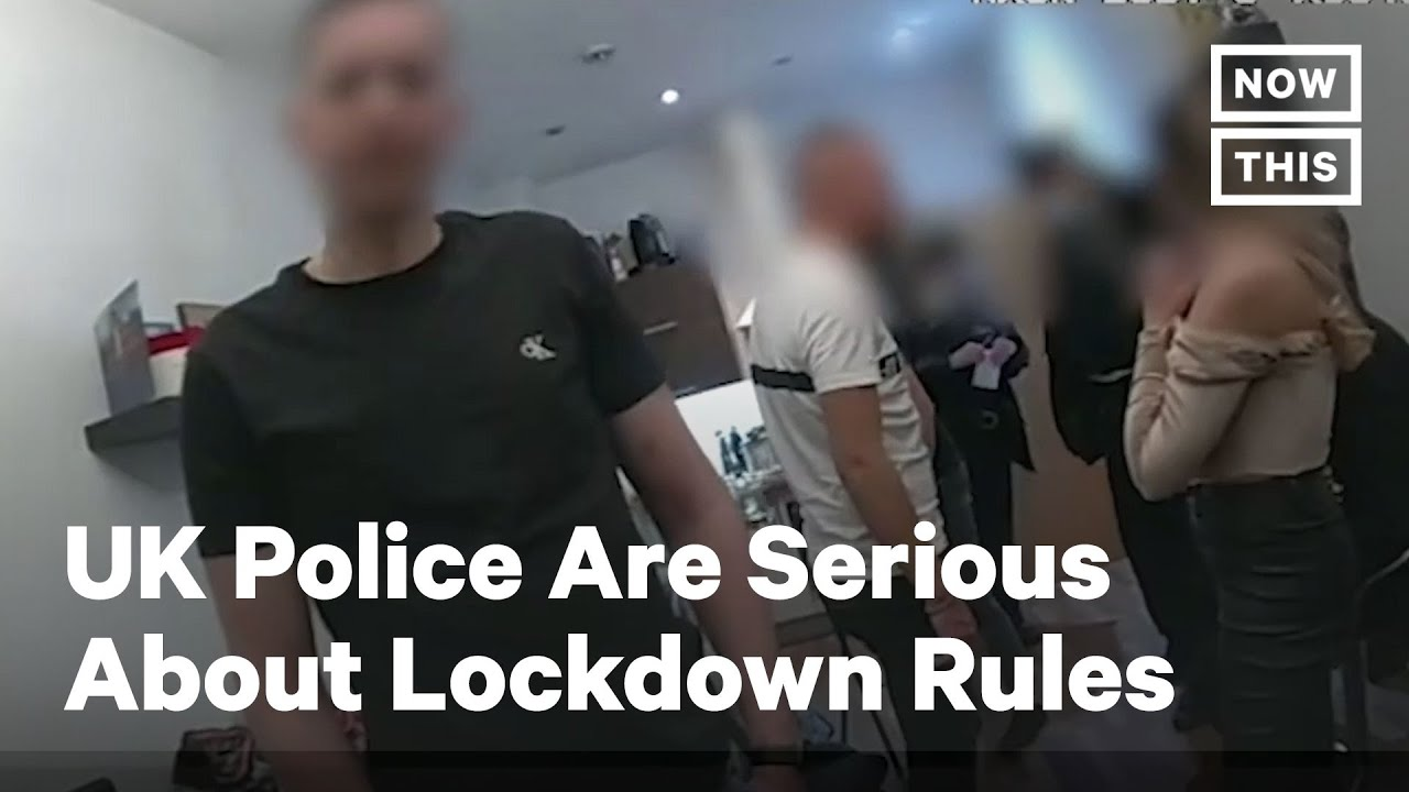 London Police Go On Fining Spree During Lockdown