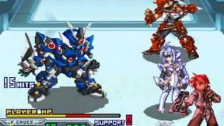 Super robot wars Mugen no frontier Exceed Boss ArcGain