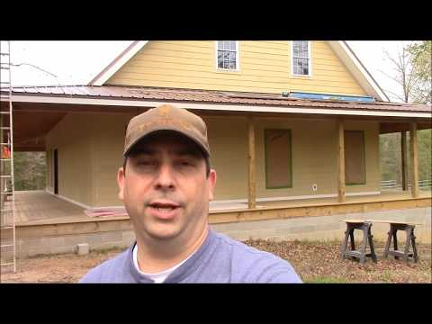 Building My Own Home: Episode 96 - Panting the House