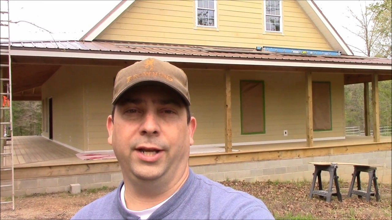 Building My Own Home: Episode 96   Painting The House