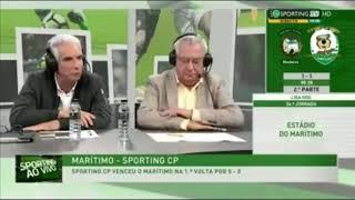 Azia na sporting tv - maritimo ganha nos descontos