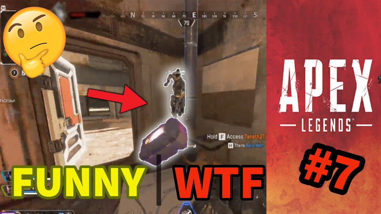 Apex Legends: Funny & WTF moments #7